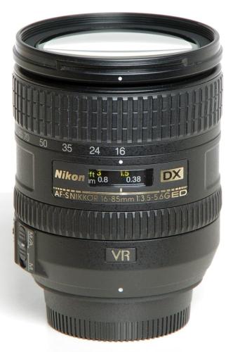Nikon AF-S 16-85/3,5-5,6 G DX ED VR *gebraucht*