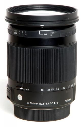 Sigma 18-300/3,5-6,3 DC HSM für Sony A-Mount *gebraucht*